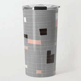 Square abstract Travel Mug
