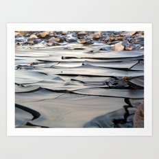 River of Clay Art Print