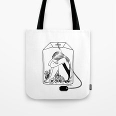 Lady Grey Tea Tote Bag