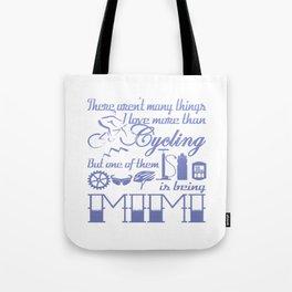Cycling Mimi Tote Bag