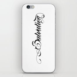 Salvation iPhone Skin