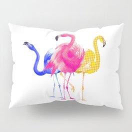 Catwalk Flamingos Pillow Sham