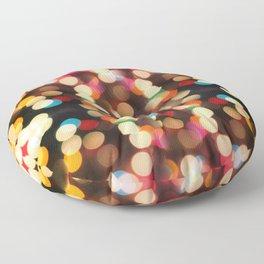 Bokeh Floor Pillow