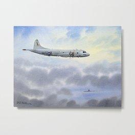 P-3 Orion Aircraft Metal Print