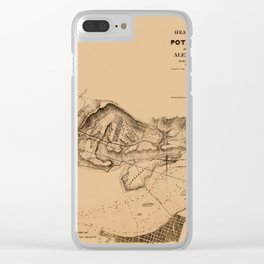 Map of Potomac River 1838 Clear iPhone Case