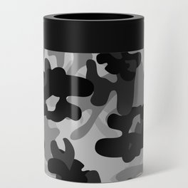 Camouflage (Gray) Can Cooler