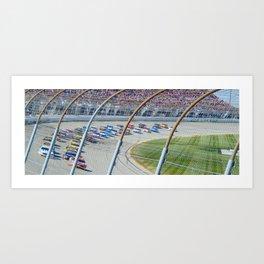 Let's Race Art Print