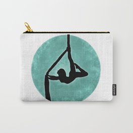 Aerial Silhouette on Paint Carry-All Pouch