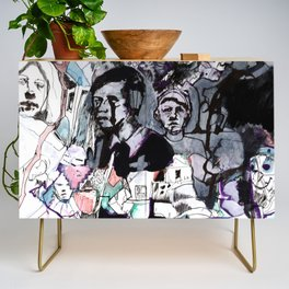 The Purple Mercury People Credenza