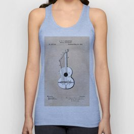 patent art Abelspies 1893 Musical Instrument Unisex Tank Top