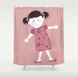 Raggedy Pam Shower Curtain