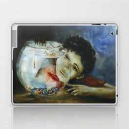 The Kid and the Fishtank Laptop & iPad Skin