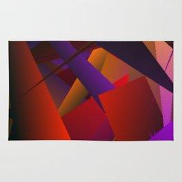 Smoke Screen Abstract 3 Rug