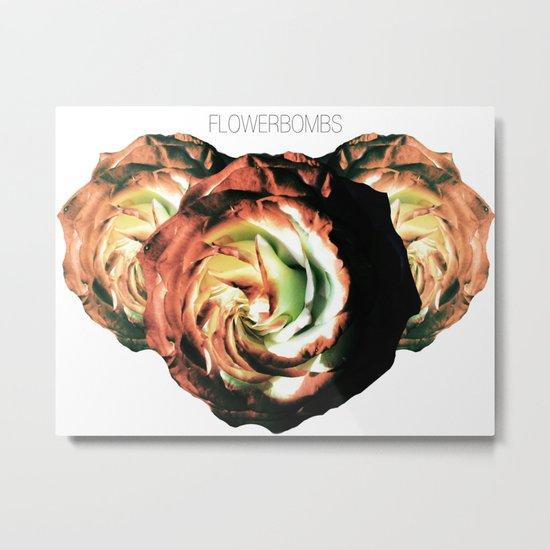 Flowerbombs Metal Print