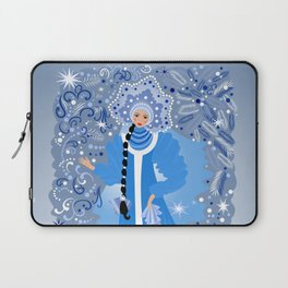 Beautiful snow maiden Laptop Sleeve