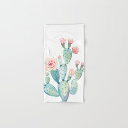 Cactus 2  White #society6 #buyart Hand & Bath Towel