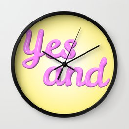Yes and Wall Clock
