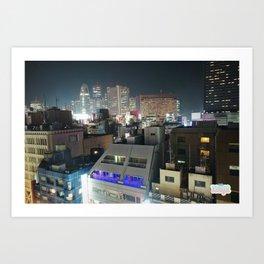 SHINJUKUnight Art Print