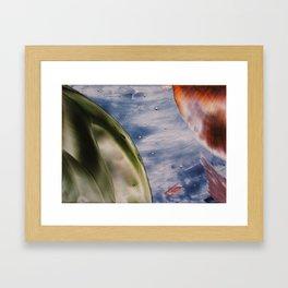 Planetary space Framed Art Print