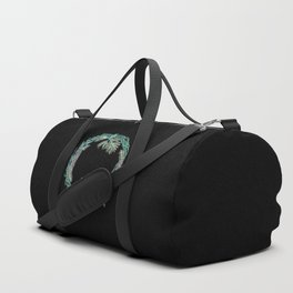Squirrel and pinecorn wreath 04 Duffle Bag