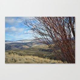Manastash Range Canvas Print