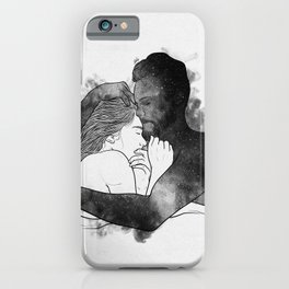 The hug. iPhone Case