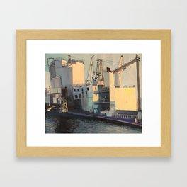 Brooklyn Navy Yard Framed Art Print