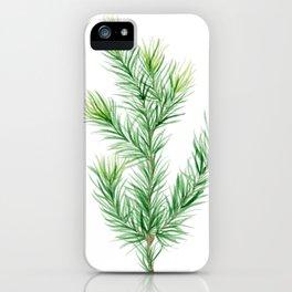 Pine Branch iPhone Case