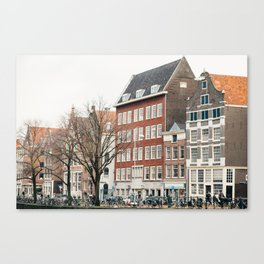 Amsterdam love Canvas Print