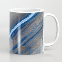marble Mugs featuring Marble by Santo Sagese