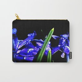 Among the Ladies Artist Series jGibney Irises Carry-All Pouch