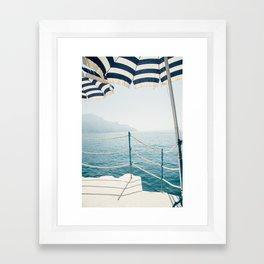 Sun-brellas Framed Art Print
