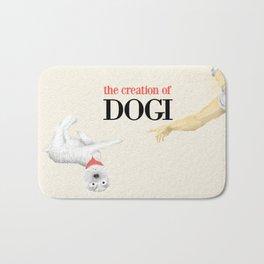 The Creation of Dogi Bath Mat