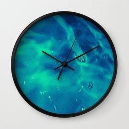 really trash water Wall Clock