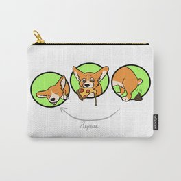 sleep, eat, potty, repeat Carry-All Pouch