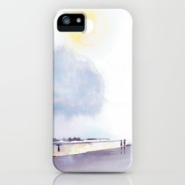 Sunday at the beach iPhone Case