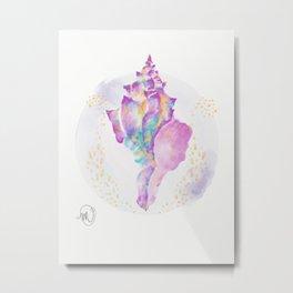 """Technicolor Conscious"" Metal Print"