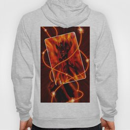 Fire and flames Hoody