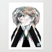 gray Art Prints featuring Gray by Chen-Long Chung