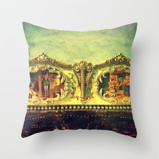 Auf dem Jahrmarkt (1) Throw Pillow