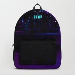 Cyberpunk Future Hallway Backpack