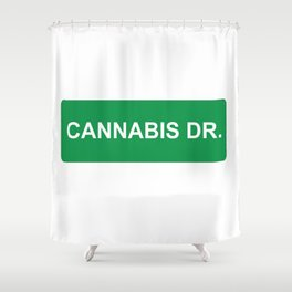 CANNABIS DR Shower Curtain