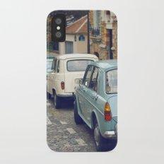 Vintage Parisian Streets Slim Case iPhone X