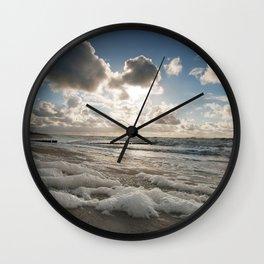 Below My Feet Wall Clock