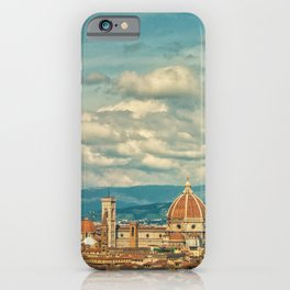 Duomo in Florence Skyline iPhone Case