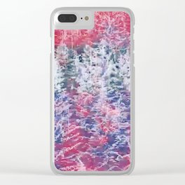 Skyride Clear iPhone Case