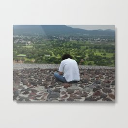 A Passing Moment Metal Print
