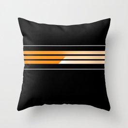 Team Colors 5...Orange Throw Pillow