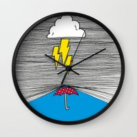 shield Wall Clocks featuring Shield by Prince Arora