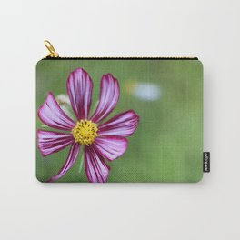 Purple Painted Petals Carry-All Pouch
